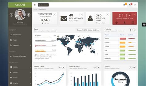 bootstrap layout for all devices 28 best bootstrap admin themes that actually add value