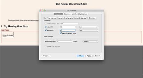 latex tutorial mac os x how to use lyx on os x