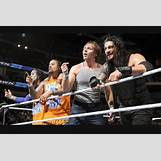 Roman Reigns And The Usos Football | 750 x 500 jpeg 216kB