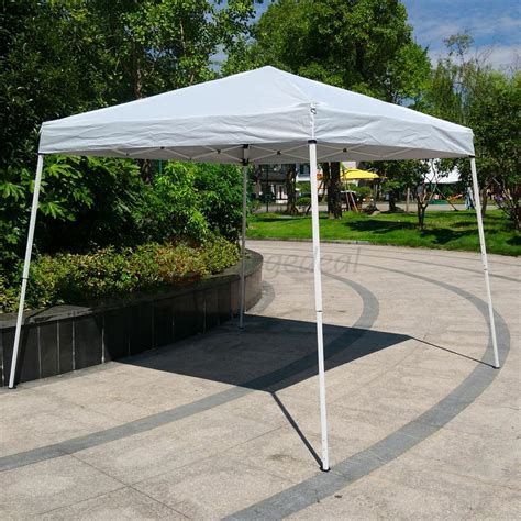 gazebo pop up 10x10 ft pop up gazebo easy pop up canopy tent white