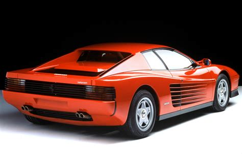 ferrari testarossa 1984 ferrari testarossa related infomation specifications