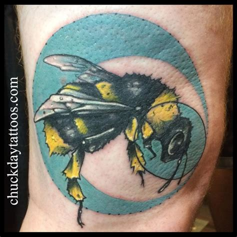 bees knees tattoo bees knee by chuck day tattoonow