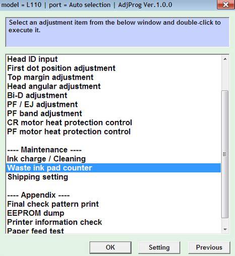 waste ink pad counter reset epson l210 download epson l110 l210 l300 l350 l355 resetter