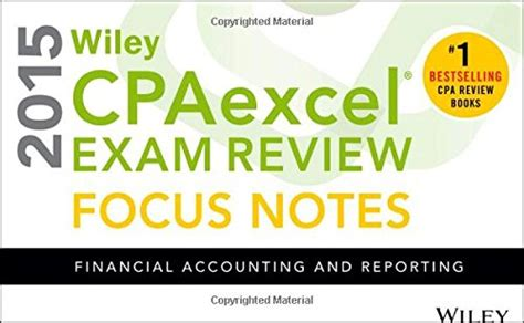 wiley cpaexcel review 2015 focus notes financial