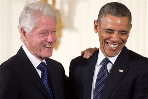 Six Degrees Of Obama And Clinton by Bill Clinton S Obamacare Rant Was Scripted And Approved