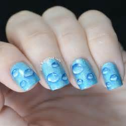 Best nail art water drops ever from pink amp polished nails