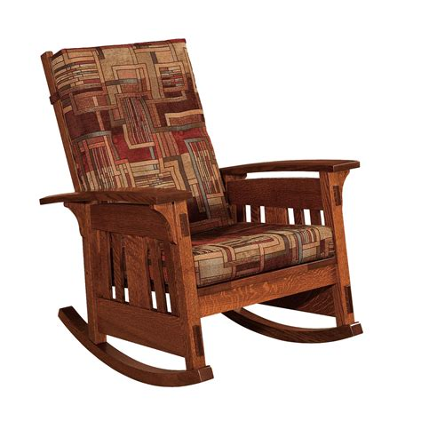 couch rocking chair mccoy upholstered rocking chair from dutchcrafters amish
