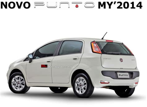 fiat punto 2014 2014 fiat punto gets fiat dna technology launch soon brazil