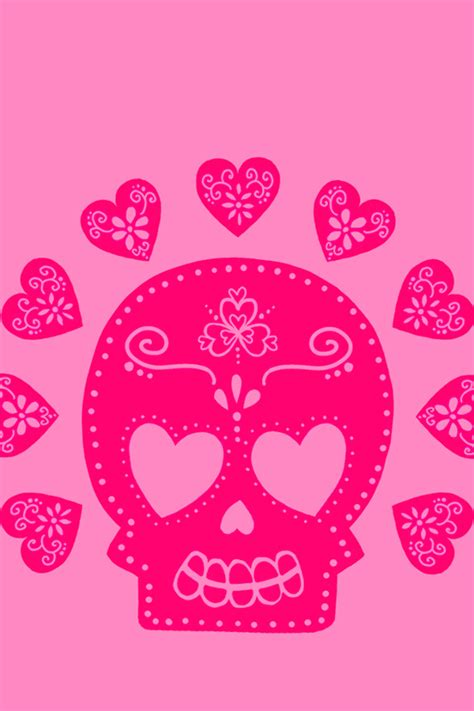 iphone wallpaper girly skull cute girly iphone 4 wallpapers backgrounds pictures