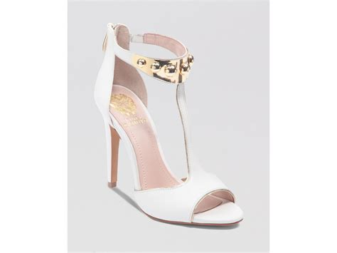 vince camuto high heels vince camuto sandals kelva high heel in white white gold