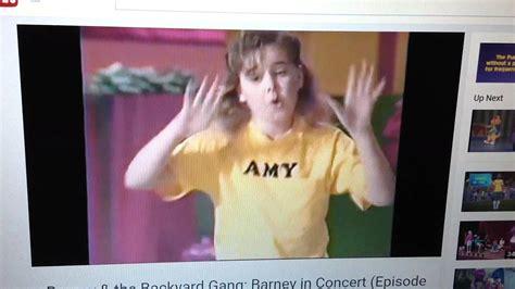 we are barney and the backyard gang we are barney the backyard gang youtube