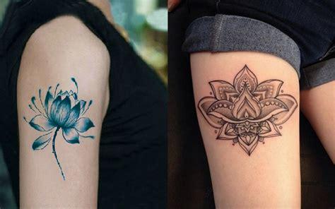 a tatuagem de flor de l 243 tus 233 um desenho muito tradicional
