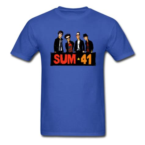 T Shirt 41 sum 41 t shirt allbandshirts