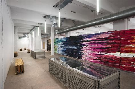 Interiors And Textiles by Fabric Recycled Office Wall Ideas Quecasita