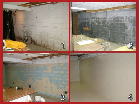 sani tred basement waterproofing system creating solution