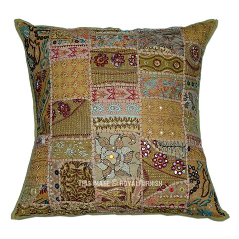 green 60 quot x60 quot outdoor indoor vintage patchwork throw