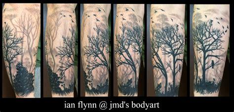 tree silhouette tattoo tree silhouette by ian flynn my portfolio
