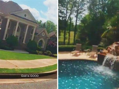 adrien broner house adrien broner s snapchat tour of insane new atl crib tmz com