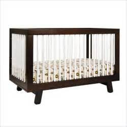 babyletto hudson 3 in 1 convertible crib in two tone
