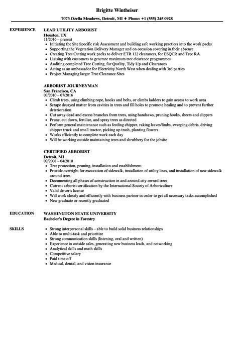 best arborist resume images resume ideas namanasa