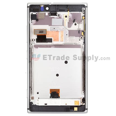 nokia lumia 925 front nokia lumia 925 lcd screen and digitizer assembly with
