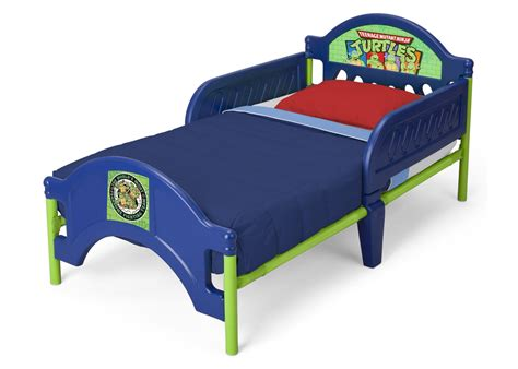 teenage mutant ninja turtles toddler bed teenage mutant ninja turtles plastic toddler bed delta