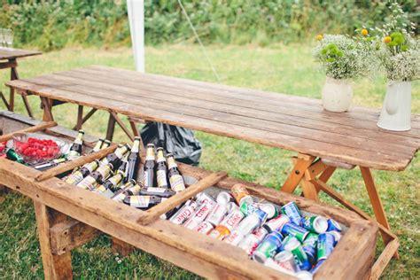 diy outdoor summer wedding ideas 2 diy drink stations the idea room