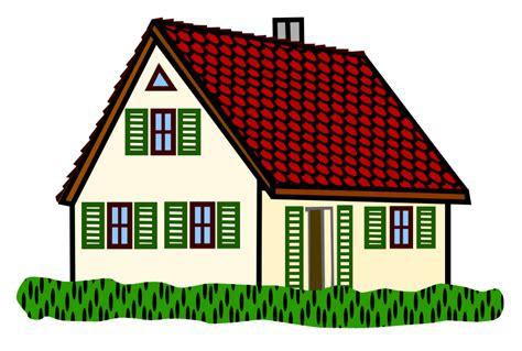 art for house clipart house coloured