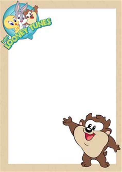 Gifs Y Fondos Pazenlatormenta Marcos Para Fotos Infantiles Baby Jj Pinterest Looney Tunes Looney Tunes Invitations Templates