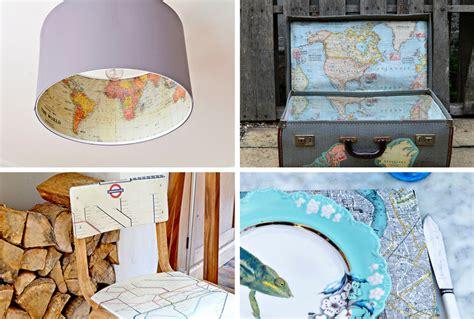10 unique decor websites that will make your apartment map decor crafts to make your home unique pillar box blue