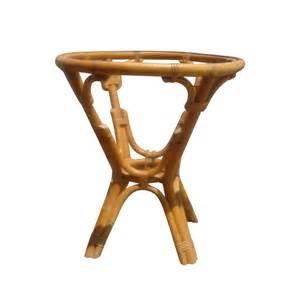 Rattan Side Table 24 Quot Vintage Rattan Side Table Base Ebay