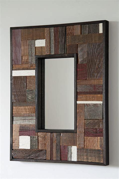 wooden bathroom mirror best 25 wood mirror ideas on pinterest pallet mirror