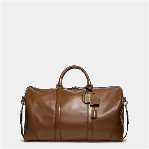 travel cabin bags coach mens travel bleecker cabin bag in leather