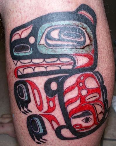 tribal tattoos calgary haida flickr photo