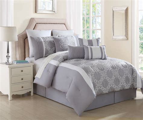 gray white comforter and grey comforter set 28 images 8 temsia gray white