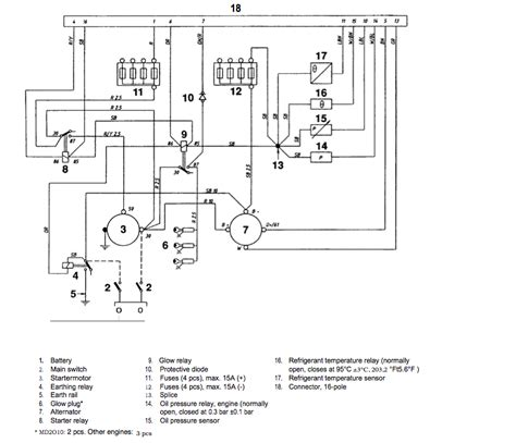 wiring diagram volvo penta alternator images wiring