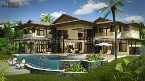 Plantation Style House by Architectural Rendering 3d Interior Design 3d