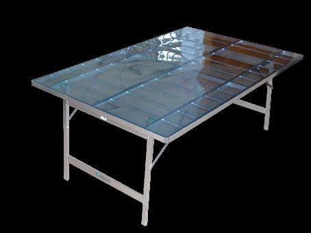 tavoli da mercato banchi in alluminio banchi per alimenti banchi