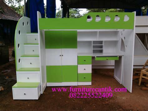 Ranjang Dan Lemari tempat tidur tingkat meja belajar dan lemari toko