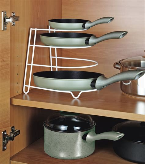 Pan Holder Rack Metaltex Frying Pan Rack At Barnitts Store
