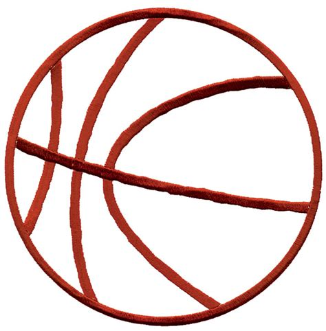 Image Outline by Basketball Outline Image Clipart Best