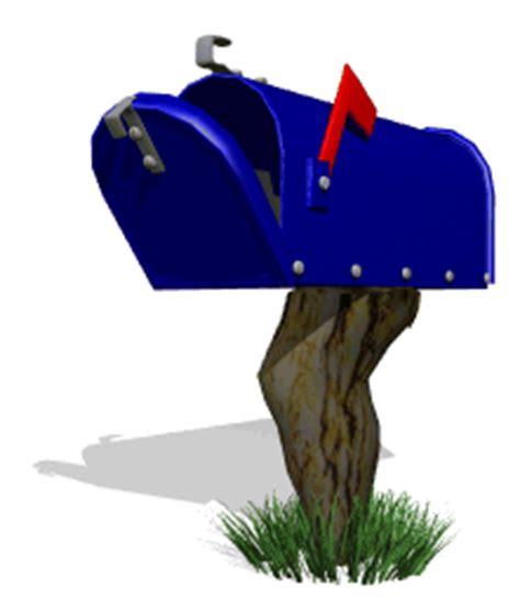 animated mailbox photo blue mailbox mail gifs album smurby fotki