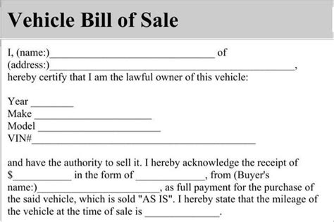 Bill Of Sale Form Download Free Premium Templates Forms Sles For Jpeg Png Pdf Word Auto Bill Of Sale Oklahoma Template