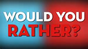 What Would You Do If Your Was At Home by Would You Rather Eat