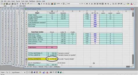 excel format for quantity surveyor useful video for beginners and advanced cost estimating