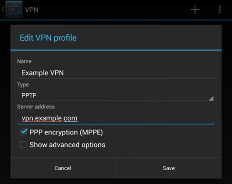 android vpn how to connect to a vpn on android