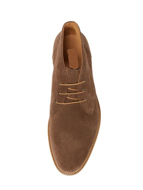 Handmade Chukka Boots - handmade s brown chukka boot mens suede leather boots