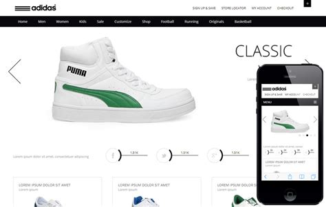 e commerce site templates clean and flat whity ecommerce responsive web template by