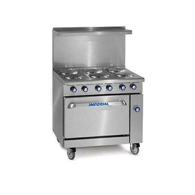 Imperial Range Ir 6 C Six 6 Burner Stove With Convection