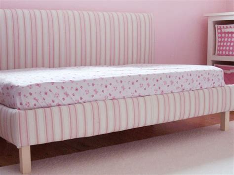 make your own daybed diy upholstered toddler daybed